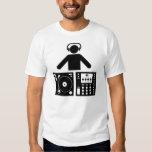 DJ t-shirt Playera