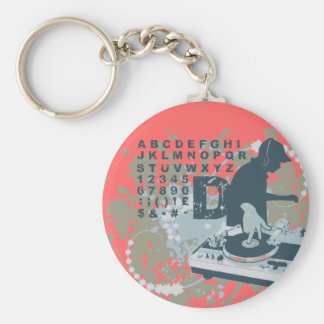 DJ T-shirts and Gifts Keychain