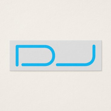Professional Business DJ tag giant stand out logo style