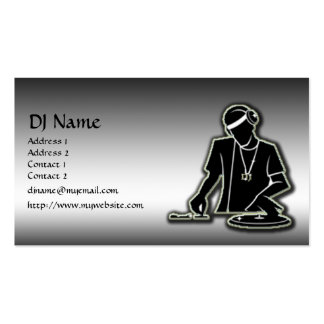 DJ TARJETAS PERSONALES