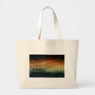 DJ Techno Soundwave Music Disco Tote Bags
