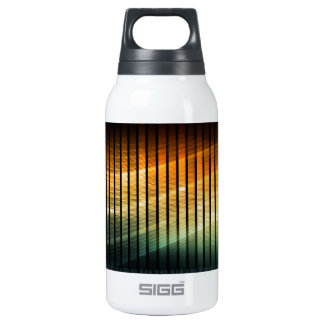 DJ Techno Soundwave Music Disco Insulated Water Bottle