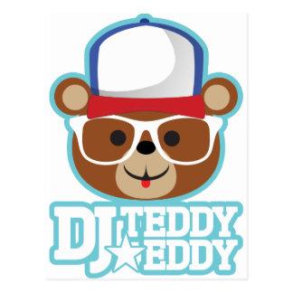 DJ Teddy Eddy Post Card