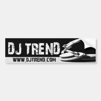 DJ TREND BUMPER STICKER