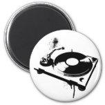DJ Turntable 2 Inch Round Magnet