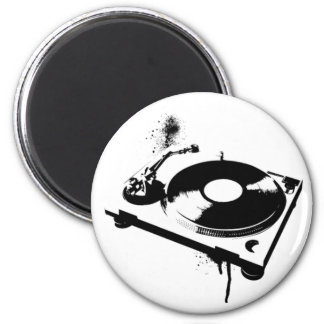 DJ Turntable 2 Inch Round Magnet