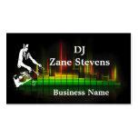DJ Turntable Business Card Template