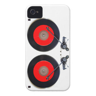 DJ Turntable iPhone 4 Case-Mate Cases