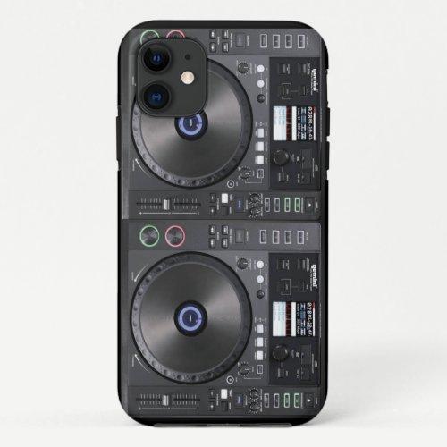 DJ Turntable iPhone 11 Case