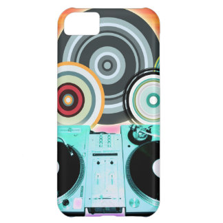 DJ Turntable Circles iPhone 5C Cover