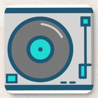 DJ Turntable Coaster