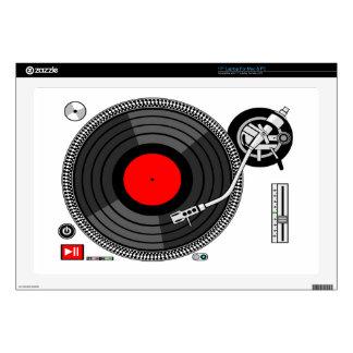 DJ Turntable Disk Jockey Laptop Skins