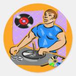 DJ Turntable Dreams Sticker