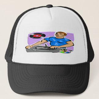DJ Turntable Dreams Trucker Hat