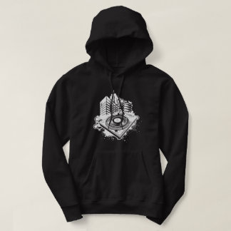 DJ Turntable Hooded Sweatshirt