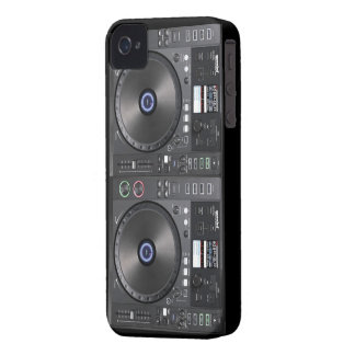 DJ Turntable iPhone 4 Cover