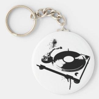 DJ Turntable Keychains