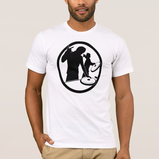 Dj Turntable Logo T-Shirt