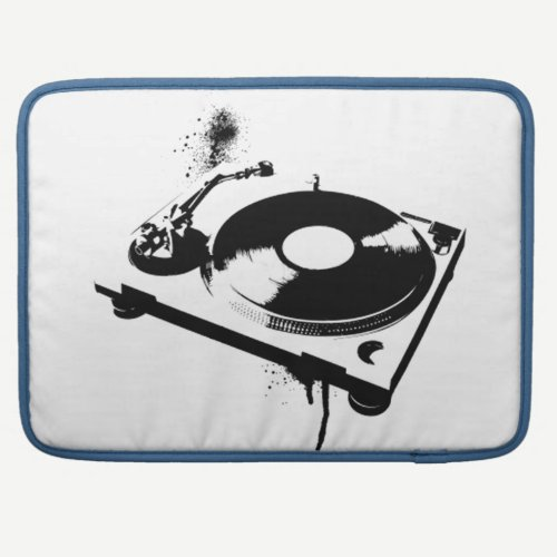 DJ Turntable Macbook Sleeve | Ibiza House Music