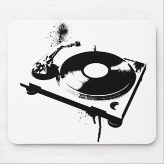 DJ Turntable Mouse Pad | Ibiza House Music Gifts
