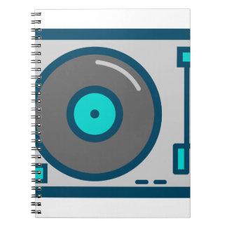 DJ Turntable Notebook