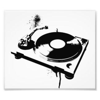 DJ Turntable Art Photo