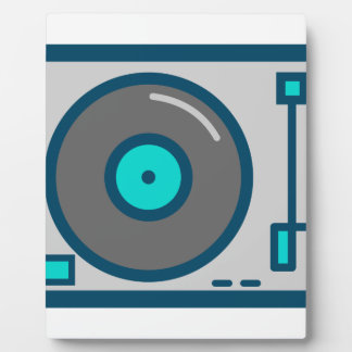 DJ Turntable Plaque