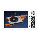 DJ Turntable Stamps