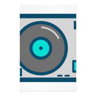 DJ Turntable Stationery