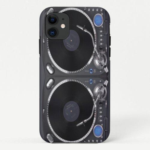 DJ Turntable VOL2 iPhone 11 Case