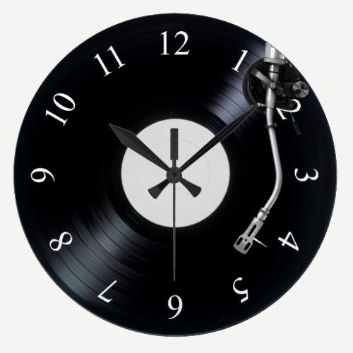DJ turntable Wall Clock