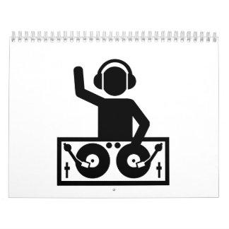 DJ Turntables Calendar