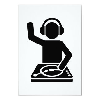 DJ Turntables Card