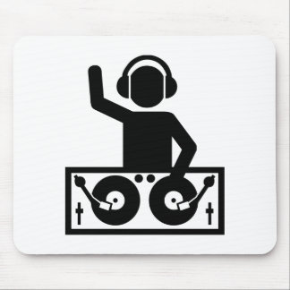 DJ Turntables Mouse Pad