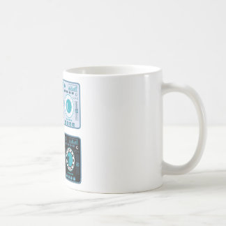 DJ Turntables Vector Coffee Mug