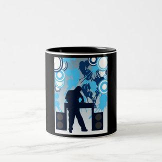 dj Two-Tone coffee mug
