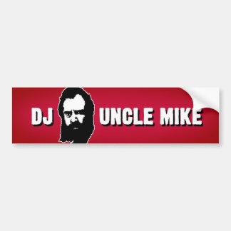 DJ Uncle Mike Bumper Sticker