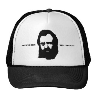 """DJ UNCLE MIKE """"FACE NEW YORK CITY"""" TRUCKER HAT"""