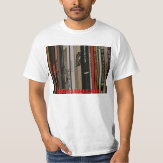 """DJ Uncle Mike """"record collection"""" T-Shirt"""