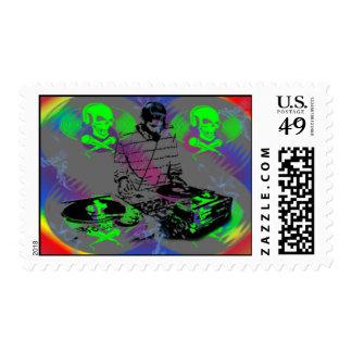 DJ Vinal Spinner Postage