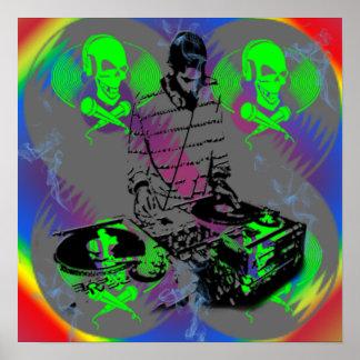 DJ Vinal Spinner Poster