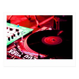DJ Vinyl 2 Postcard