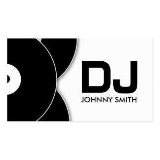 DJ Vinyl Record Music Business Card