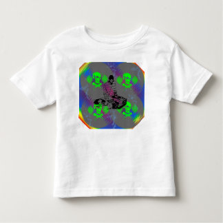 DJ Vinyl Spinner Toddler T-shirt