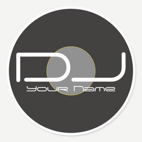 DJ Vinyl Sticker