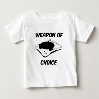 Dj Weapon of Choice Turntable T Shirt