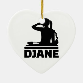 Djane Ceramic Ornament