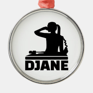 Djane Metal Ornament