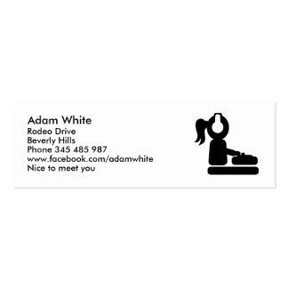 Djane Mini Business Card