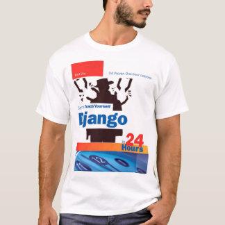 Django soltó la camiseta de la parodia del libro